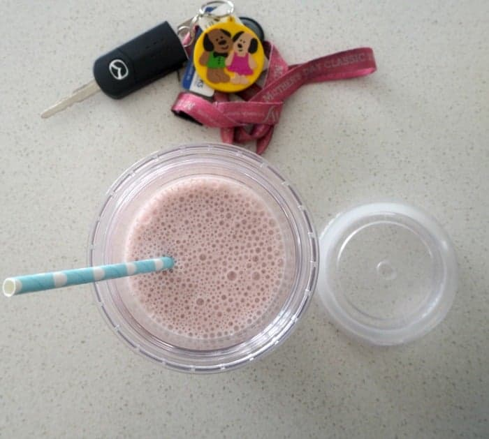 Thermomix Strawberry Smoothie