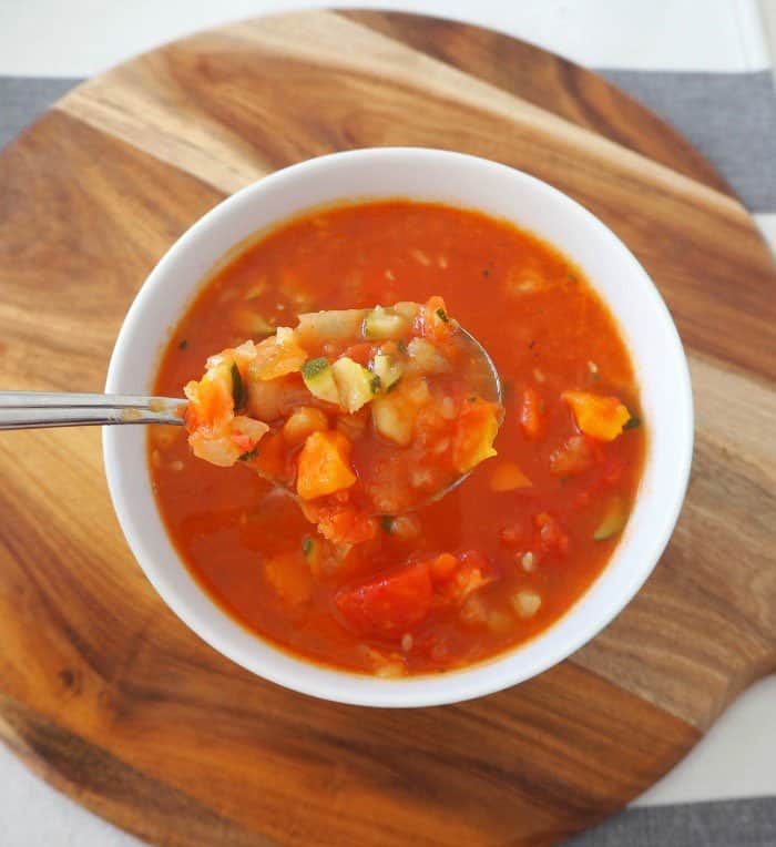 Thermomix Vegetable Soup by Thermobliss