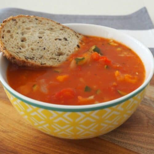 Thermomix Vegetable Soup