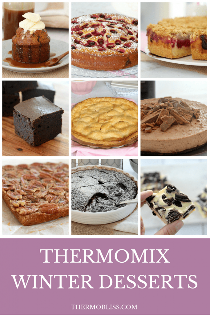 Thermomix Winter Desserts