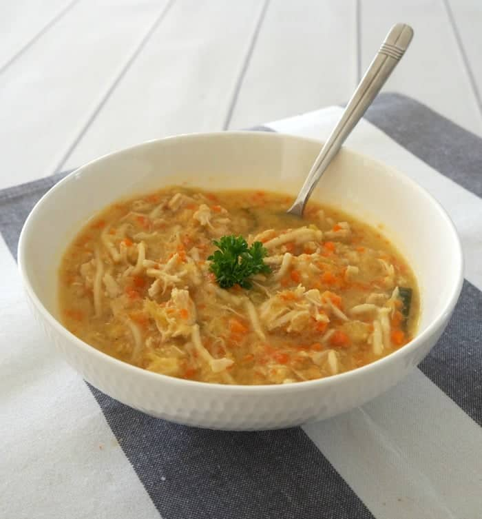 Thermomix Chicken Noodle Soup Recipe