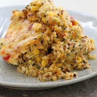 Thermomix Quinoa & Vegetable Bake