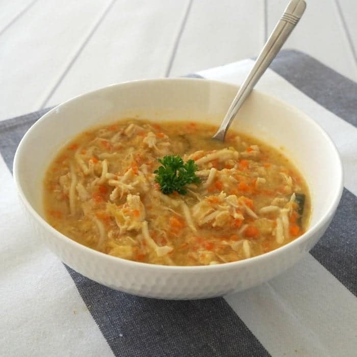 How to make Thermomix Chicken Noodle Soup