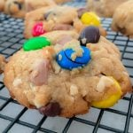 Thermomix M&M, Oat & Peanut Butter Cookies