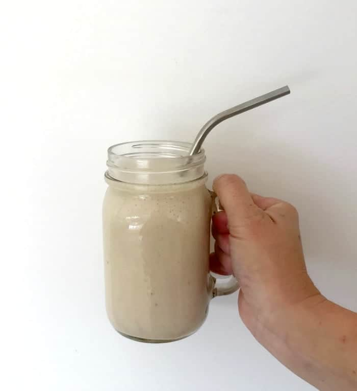 Thermomix Banana and Cinnamon Smoothie