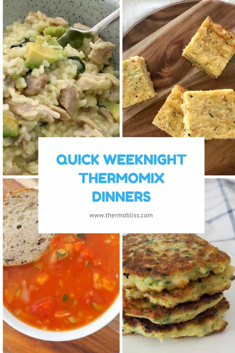 5 Quick Weeknight Thermomix Dinners