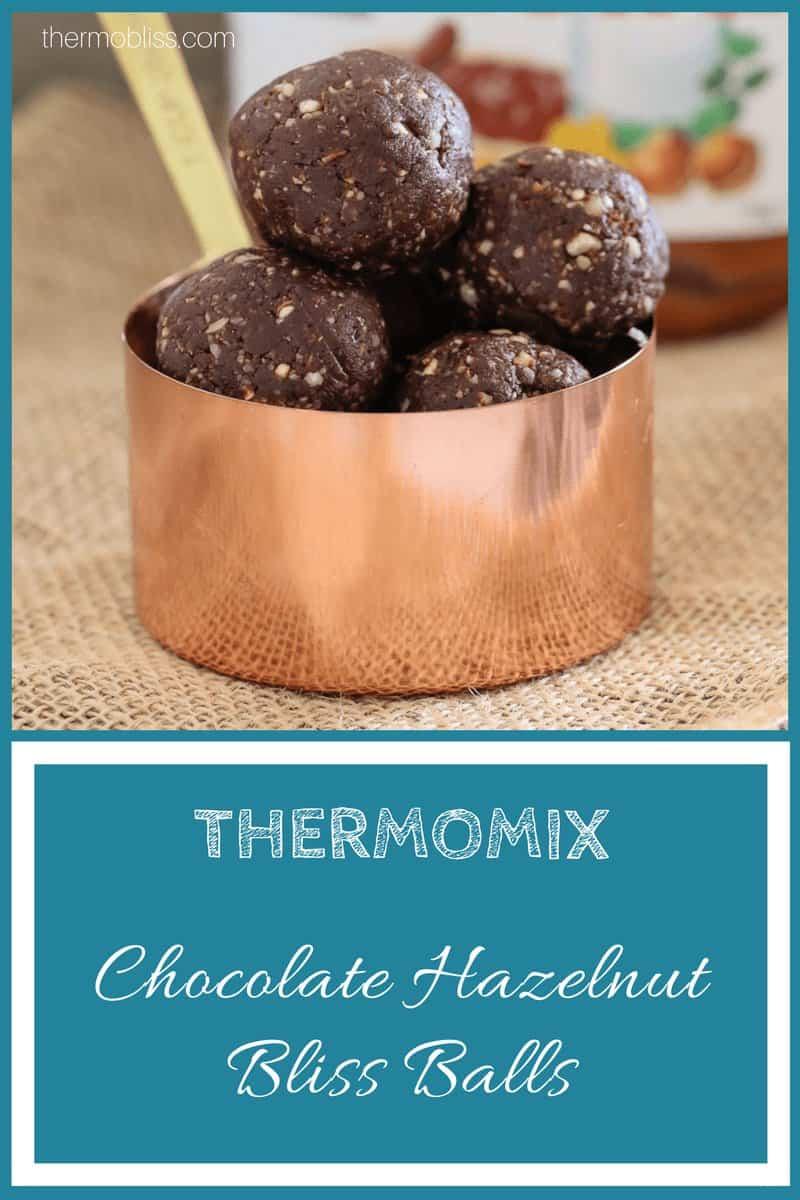 Thermomix Chocolate Hazelnut Bliss Balls