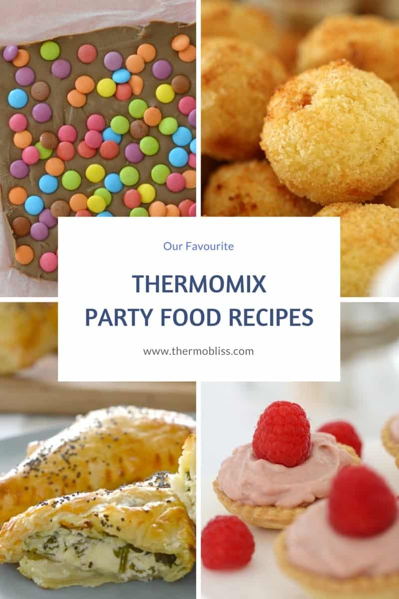 thermomix party food recipes thermobliss. Black Bedroom Furniture Sets. Home Design Ideas