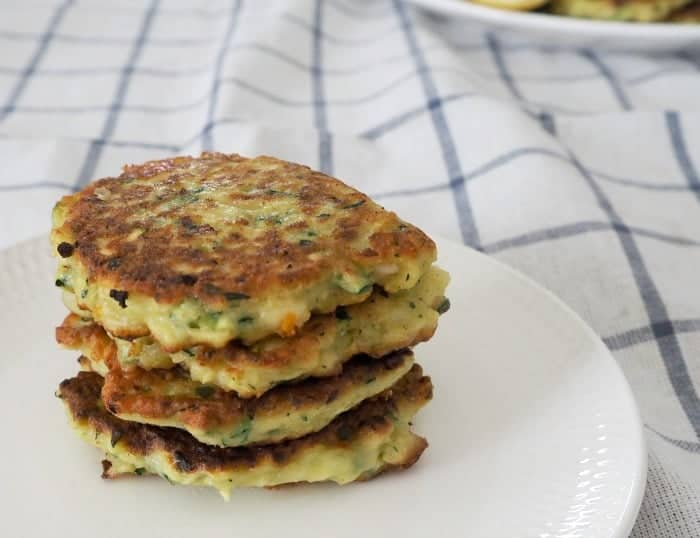Thermomix Zucchini and Cheese Fritters