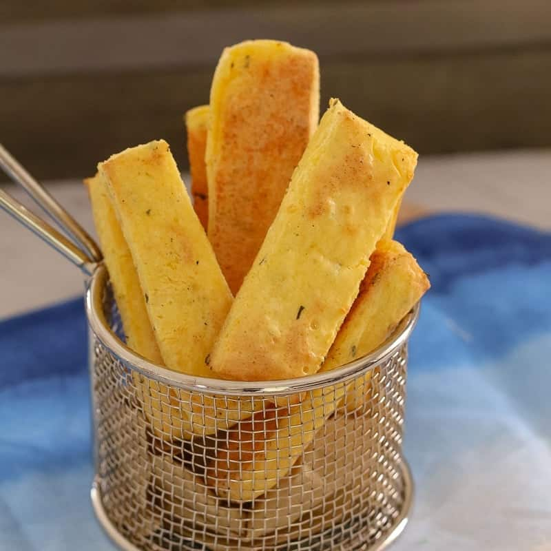 Thermomix Polenta Chips