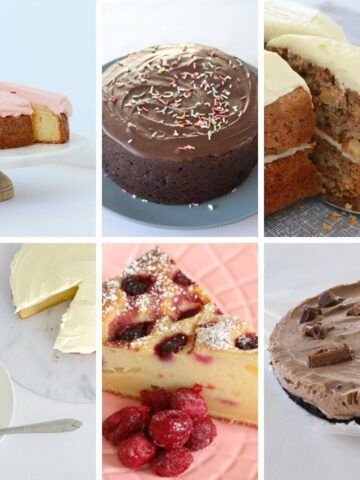 A collection of 10 of the best Thermomix Birthday Cakes... from a classic chocolate mud cake to the perfect butter cake, cheesecake to carrot cake... and more!