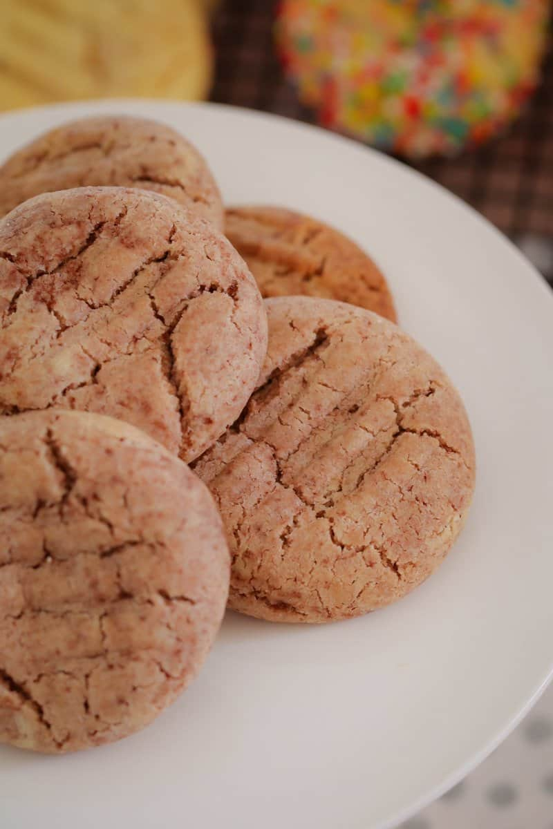 Super easy Thermomix Milo Biscuits made from just 5 ingredients... butter, self-raising flour, condensed milk, caster sugar and Milo!