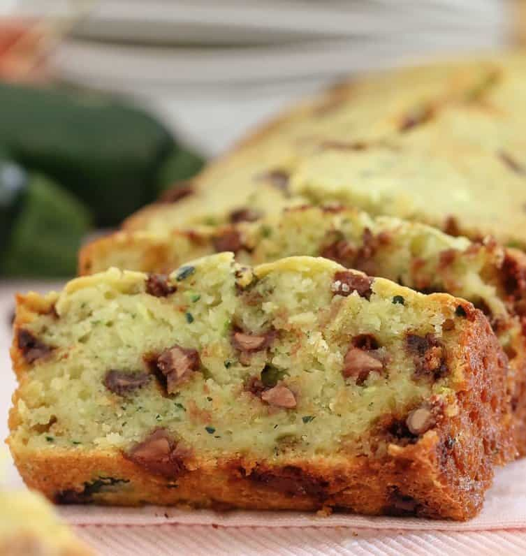 Thermomix Chocolate Chip Zucchini Bread
