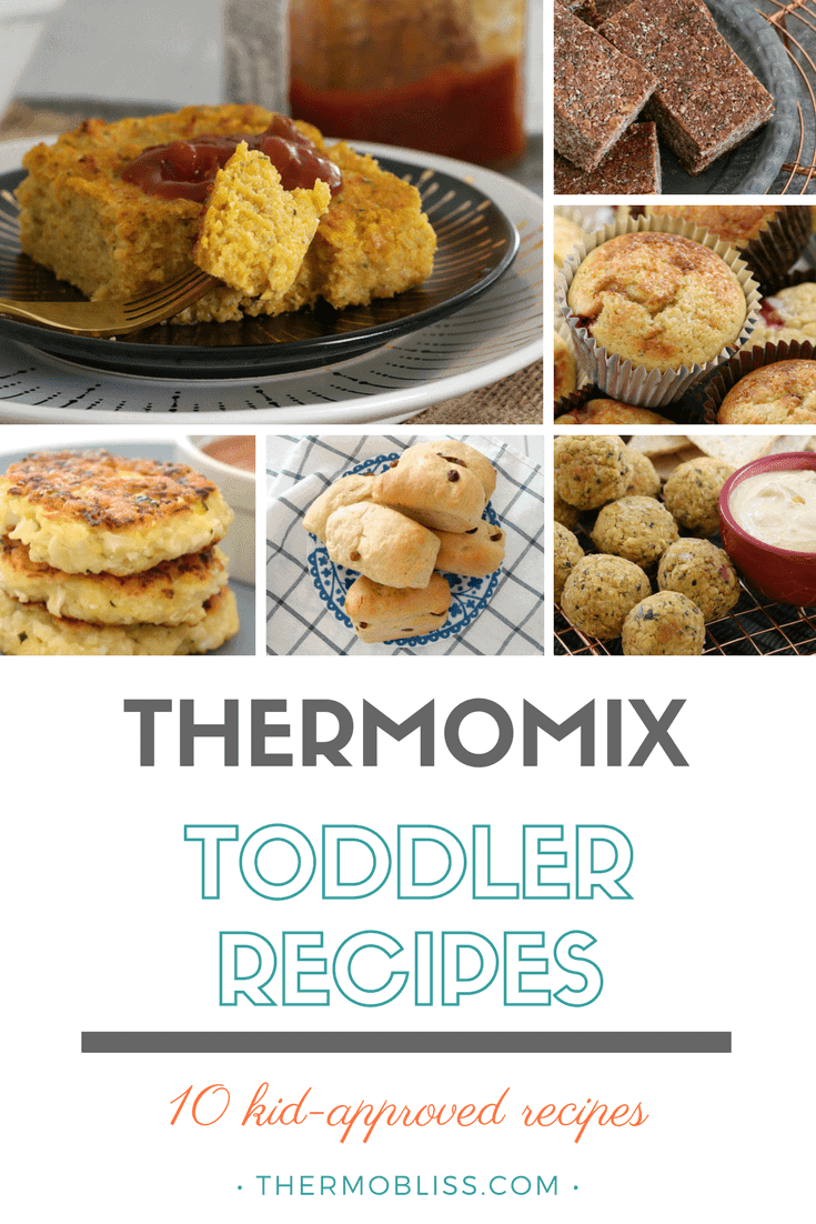 The front cover of Thermomix Toddler Recipes E Book.