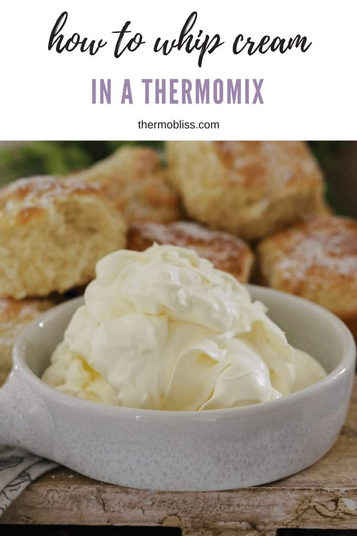 Want to know how to whip cream in a Thermomix? Our simple tips and recipe have got you covered and will have you on your way to beautifully whipped cream in no time!