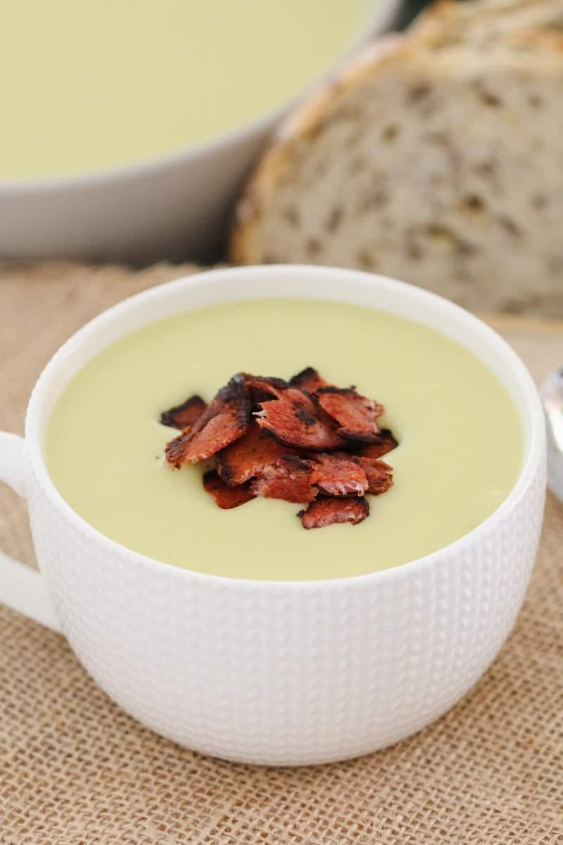 A simple and family-friendly Thermomix Potato & Leek Soup recipe that everyone will love!