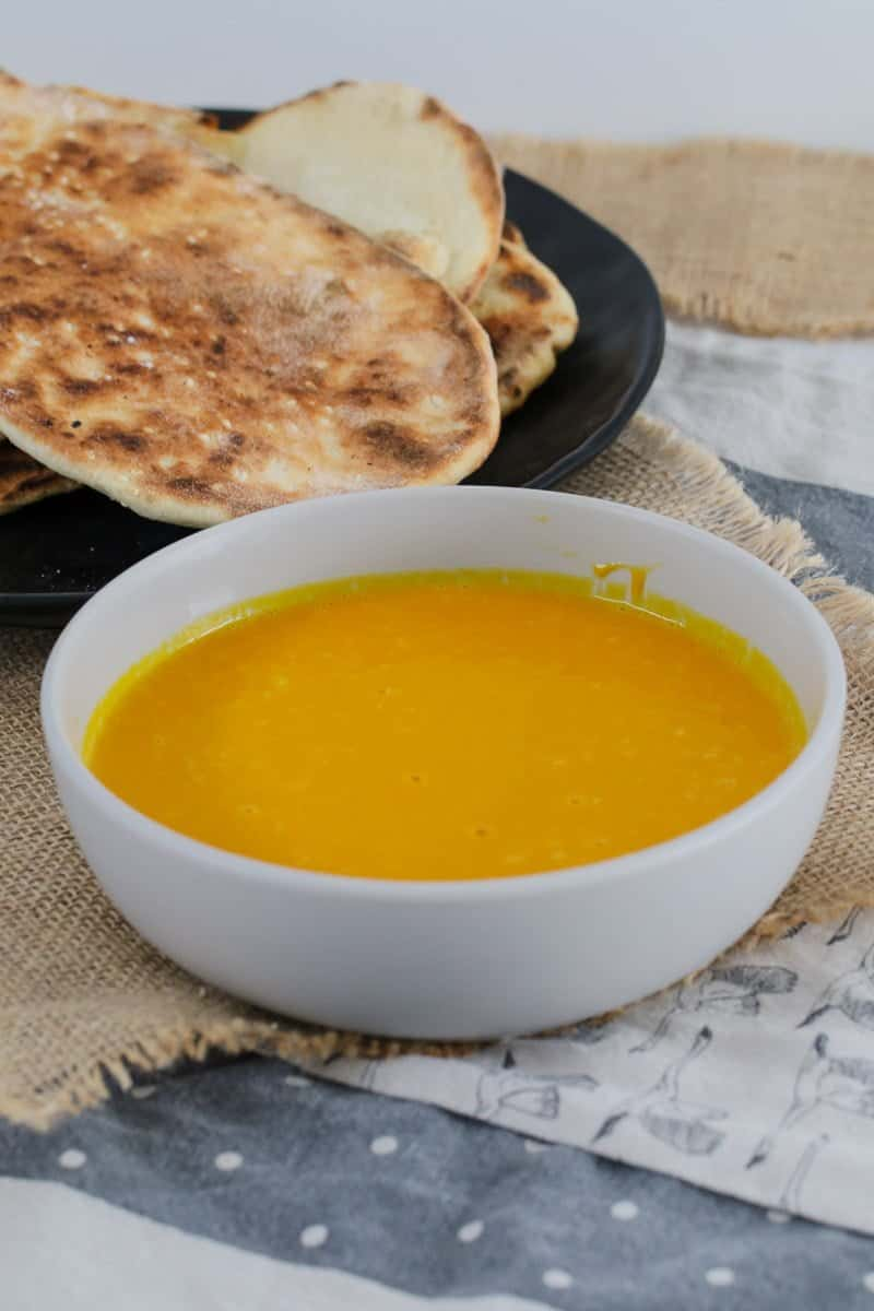 A simple and delicious Thermomix Thai Pumpkin Soup... perfect served on it's own (and even better with hot crusty bread!).