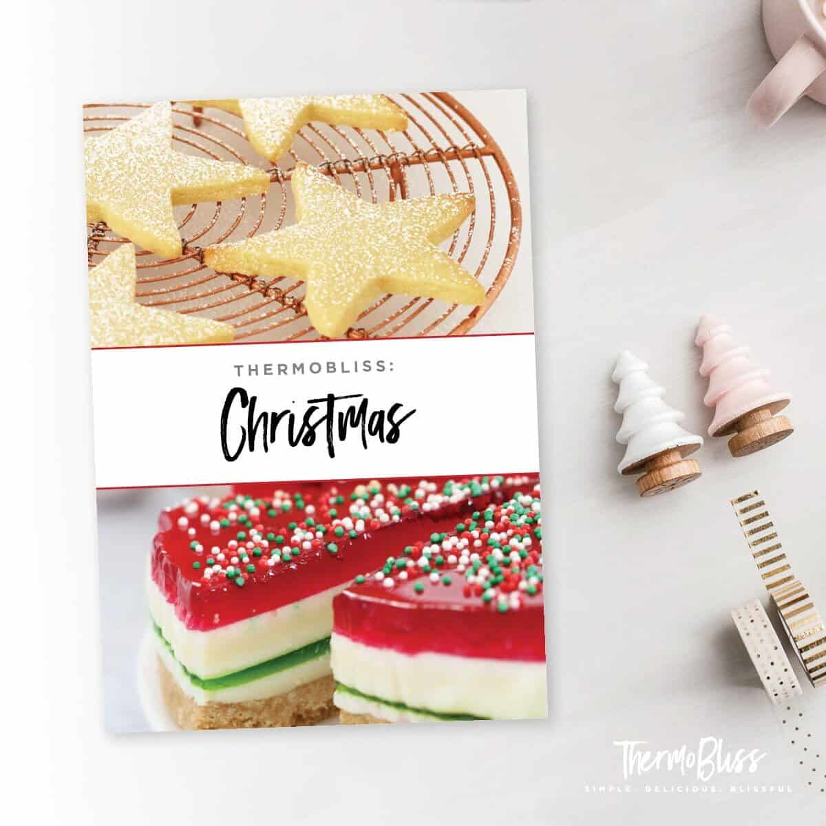 The ultimate collection of Thermomix Christmas Recipes can be found in our Thermomix Christmas Cookbook! RRP $16.95 (includes a hadcopy printed cookbook plus a free eBook version).