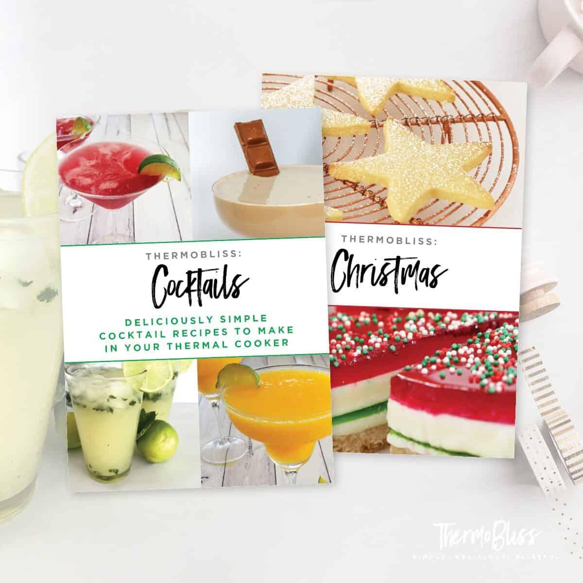 Thermomix Christmas & Cocktails Cookbook Bundle