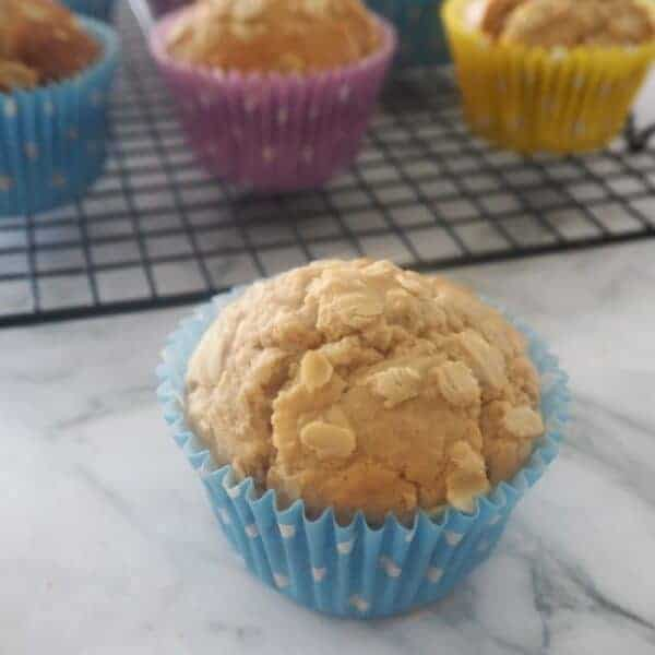 Thermomix Banana Oat Muffins Recipe | an easy snack for the whole family and also freezer friendly.