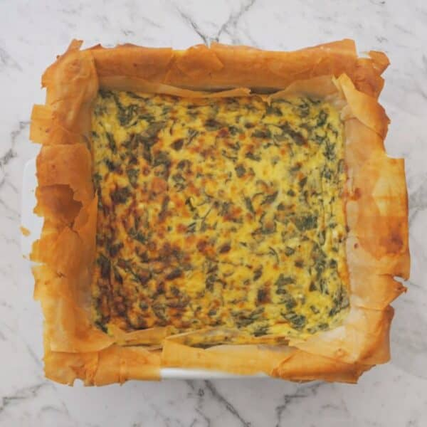How to make a Thermomix Spinach and Cheese Pie