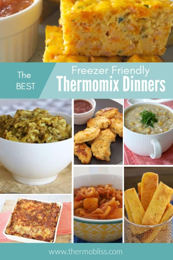 The best collection of easy Freezer Friendly Thermomix Dinners and Meals.
