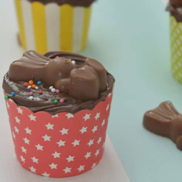 Thermomix Chocolate Bunny Cupcakes