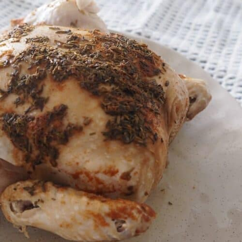 How to make a Thermomix Lemon and Herb Chicken.