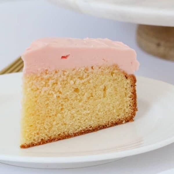 Thermomix Vanilla Cake