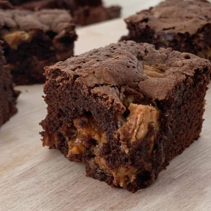 Thermomix Snickers Brownies Recipe