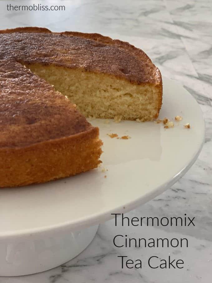 Thermomix Cinnamon Tea Cake Recipe