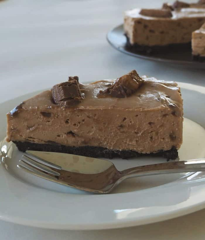 Thermomix Mars Bar Cheesecake