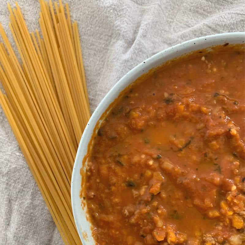 Thermomix Chunky Bolognese Recipe