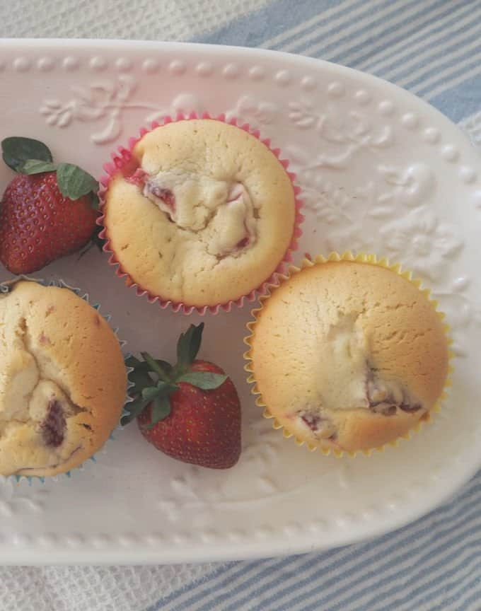 Thermomix Strawberry Cupcakes Recipe