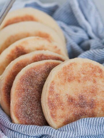 Our Thermomix English muffins are made from just a few basic ingredients, are so simple to make... and beat the store-bought versions every single time!