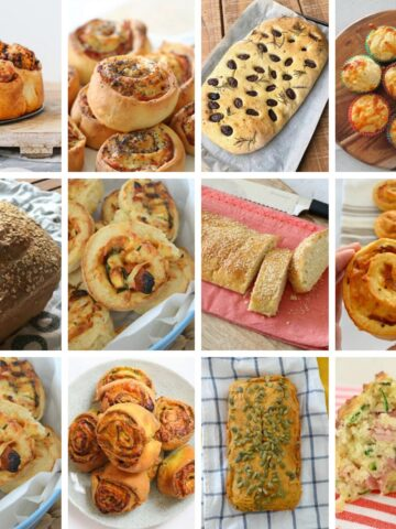 We have over 20 delicious Thermomix savoury bread and scrolls recipes are budget-friendly, freezer-friendly and great for school lunch boxes!