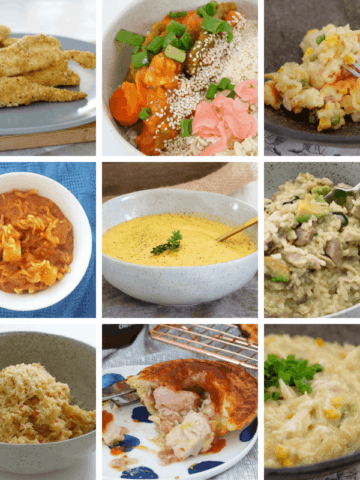 Browse our collection of easy family-friendly Thermomix chicken recipes - from risottos, to a whole roast chicken, pastas, pies, soups and more!
