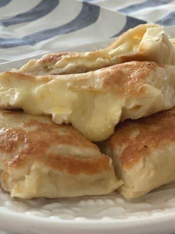 Thermomix Three Cheese Gozleme Recipe