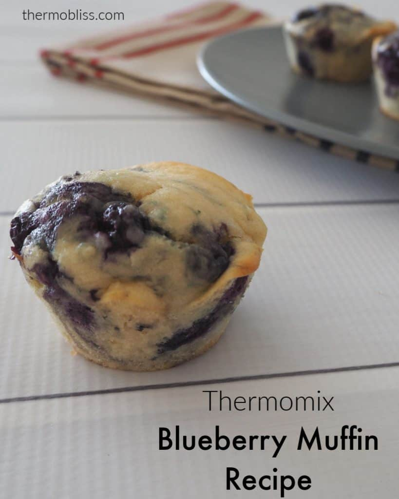 Blueberry Muffins side view