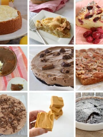 A collage of Thermomix desserts.