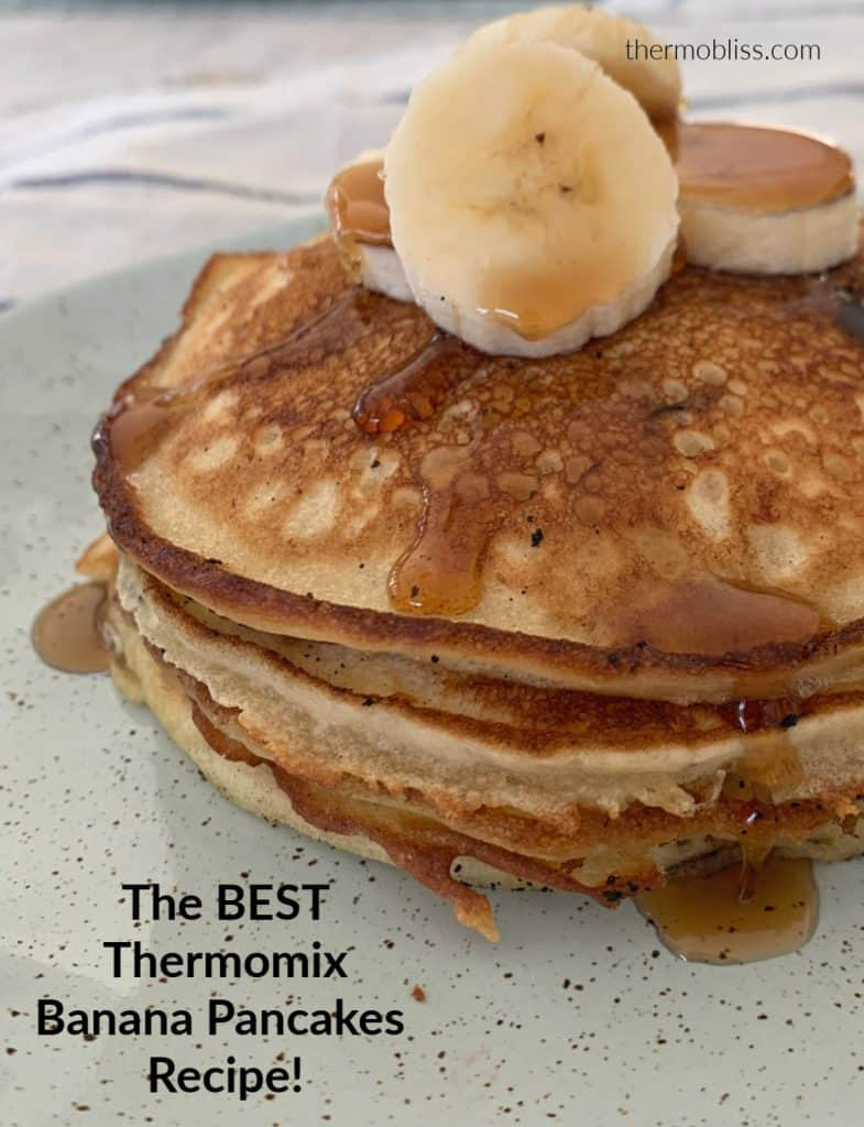 Thermomix Banana Pancakes Recipe