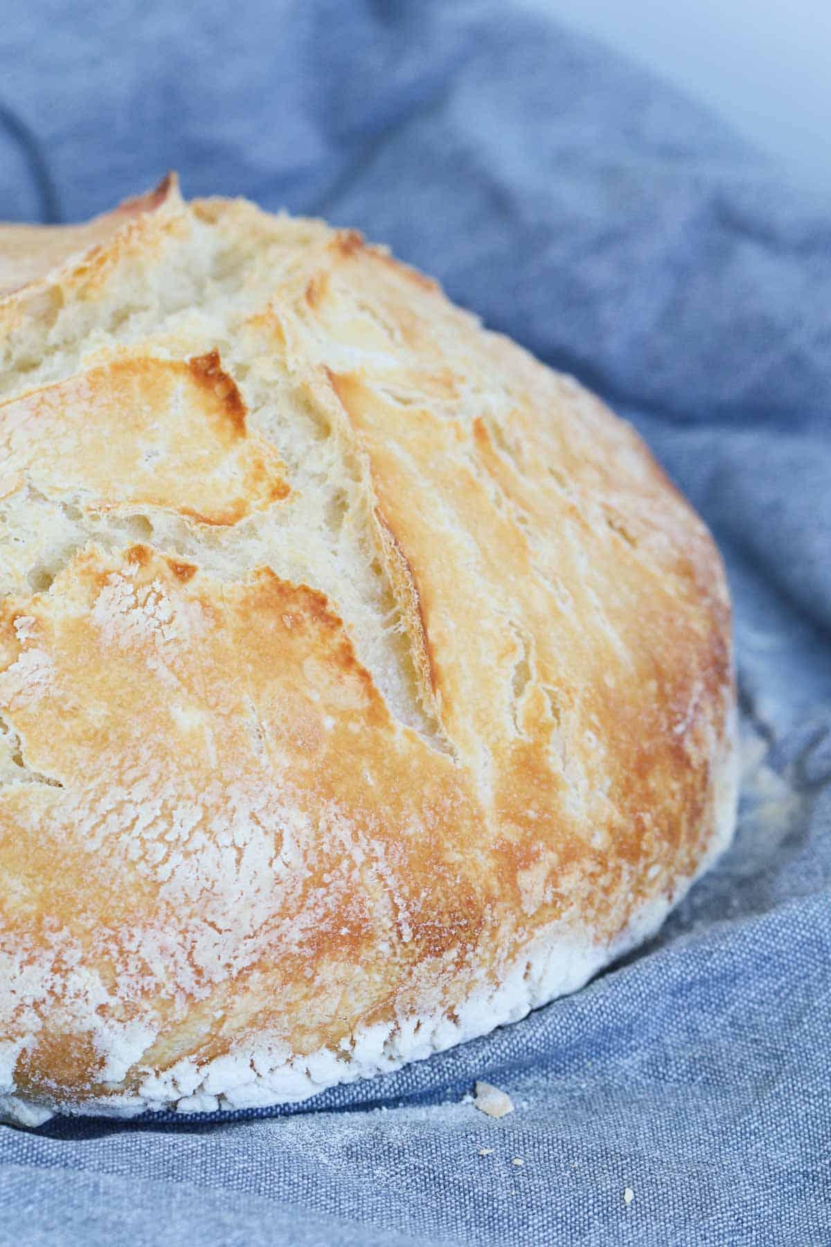 A loaf of sourdough.