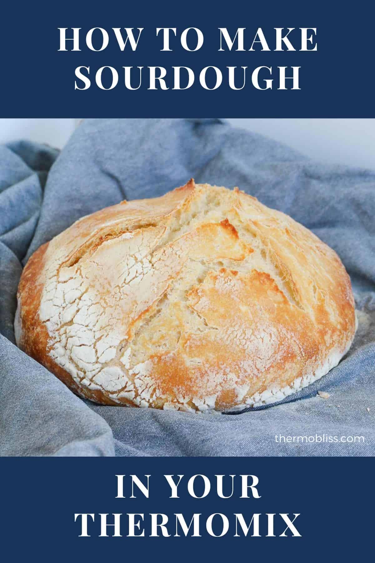 A loaf of homemade bread.