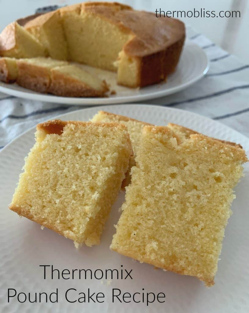 Thermomix Pound Cake Recipe