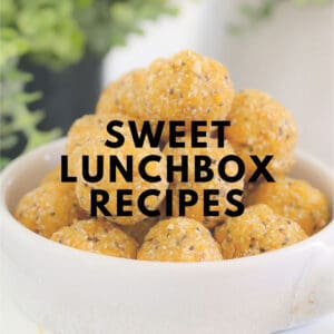 Sweet Thermomix Lunchbox Recipes