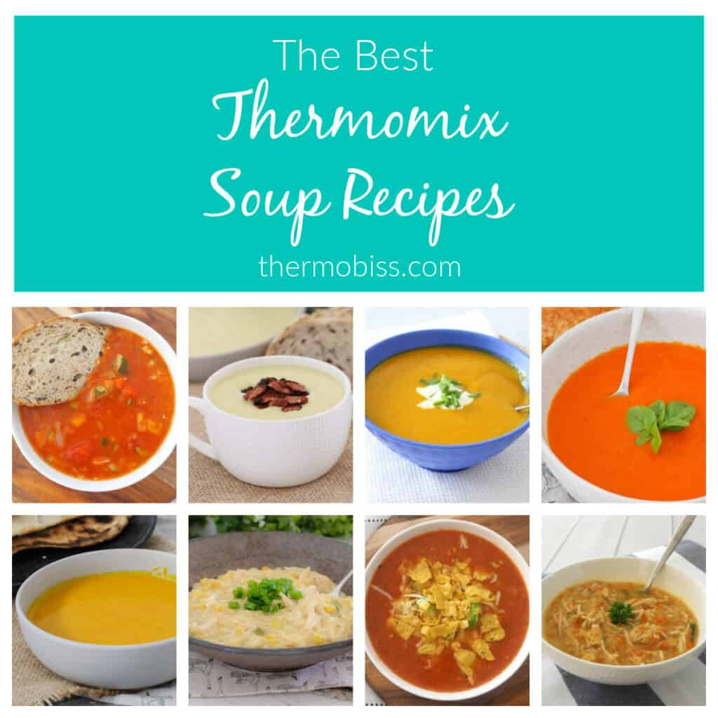 Collage of soup recipes